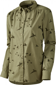 Pheasant Lady shirt Dusky green M