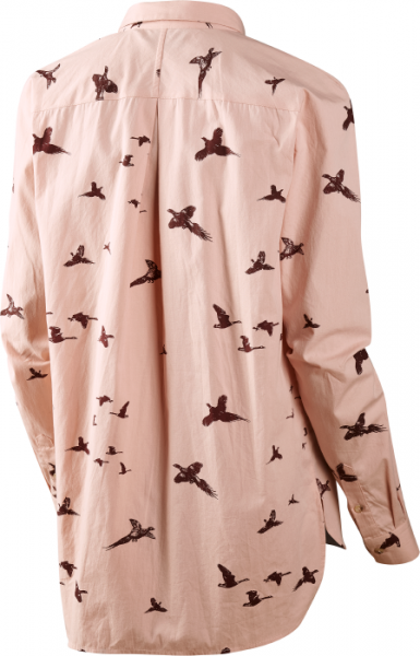 Pheasant Lady shirt Mahogany rose M