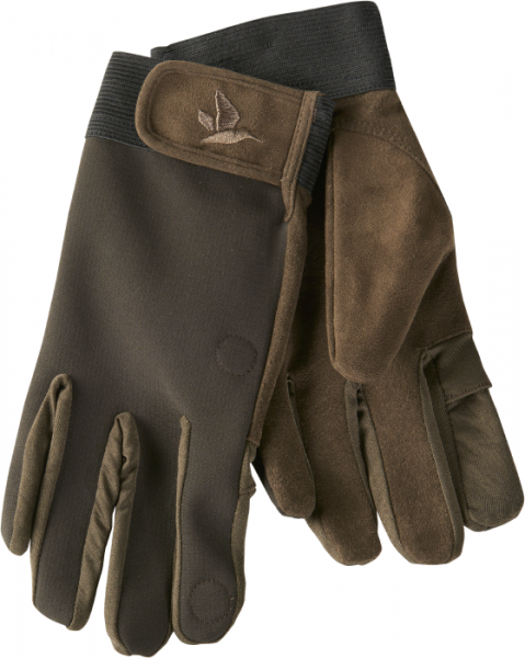 Winster softshell gloves Black